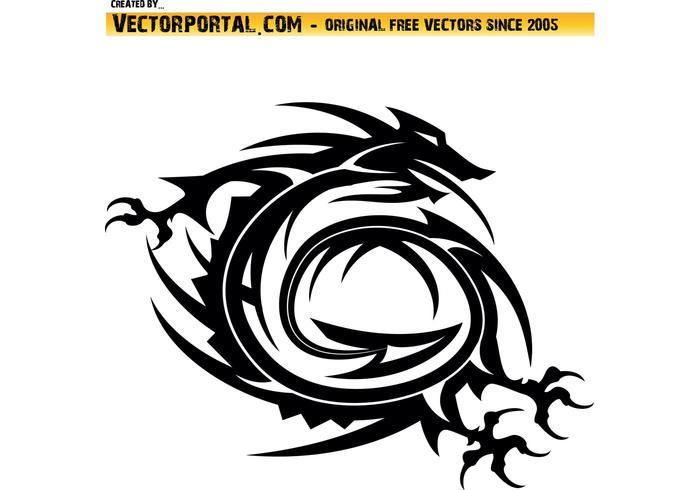 700x490 Dragon Free Vector Art