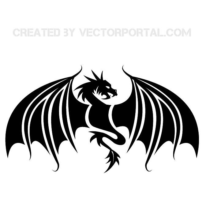 660x660 Dragon Graphics Free Vector 123freevectors