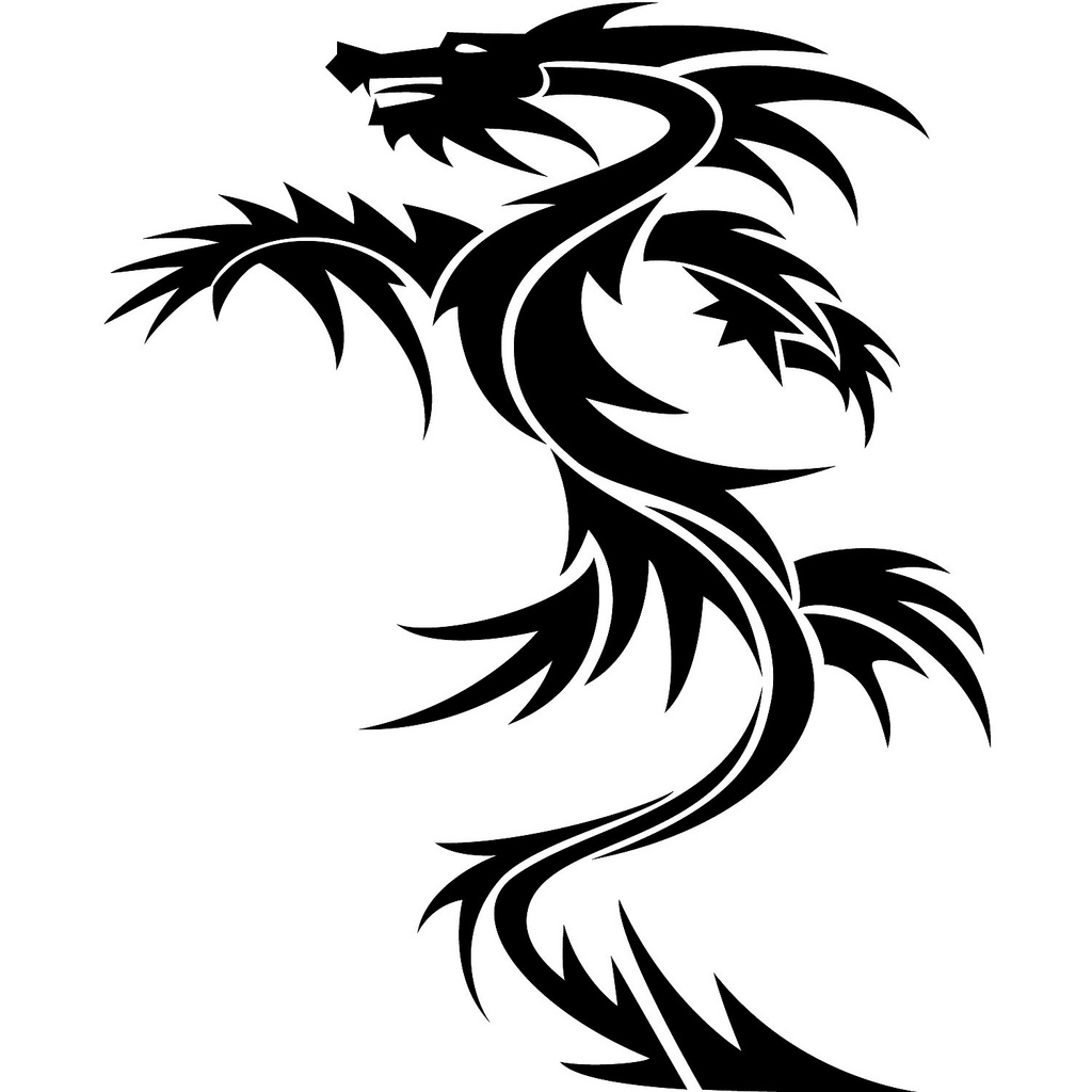 1024x1024 Dragon Vector Art If You Want To Use This Image Free