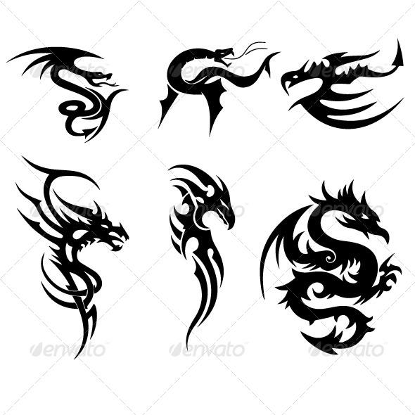 590x590 Dragon Vector Art By Krunal20189 Graphicriver