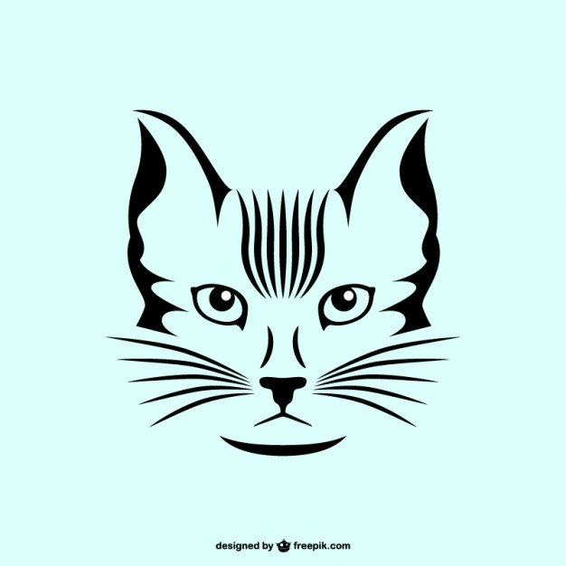 626x626 Cat Vector Art Free Download Vector Free Vector Download In .ai