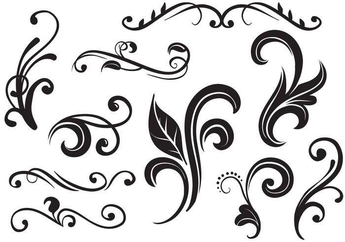 700x490 Flourish Free Vector Art