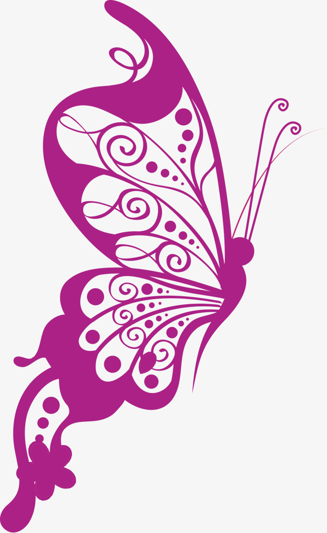 650x1060 Vector Art Butterfly, Butterfly Clipart, Vector, Butterfly Art Png