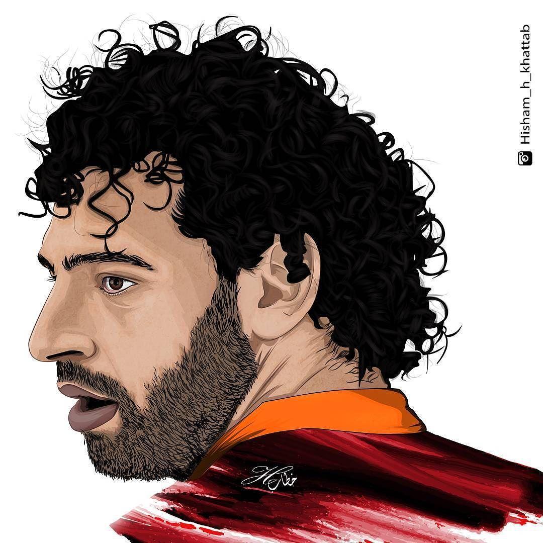 1080x1080 Mohamed Salah Vectorart