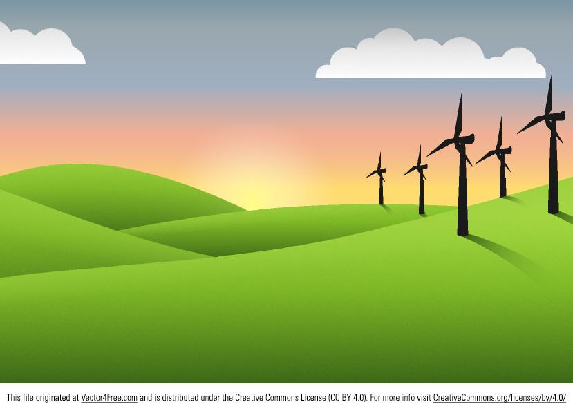 829x595 Free Landscape Vector Graphics