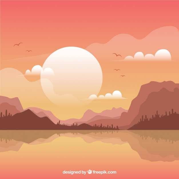 626x626 Lake Sunset Vectors, Photos And Psd Files Free Download
