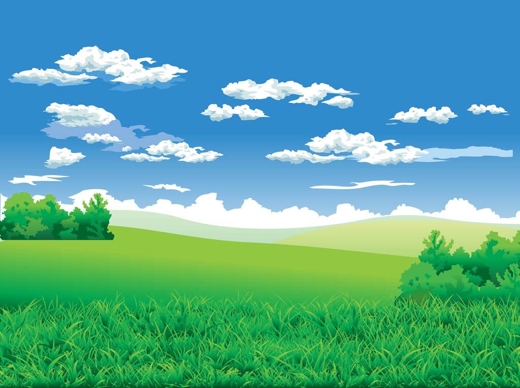 1024x765 Landscape Background Vector Art Amp Graphics