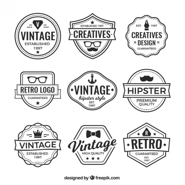 626x626 Hipster Logo Vectors, Photos And Psd Files Free Download