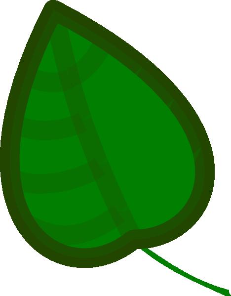 468x599 Leaf Clip Art At Clkercom Vector Clip Art Online, Cartoon Leaf