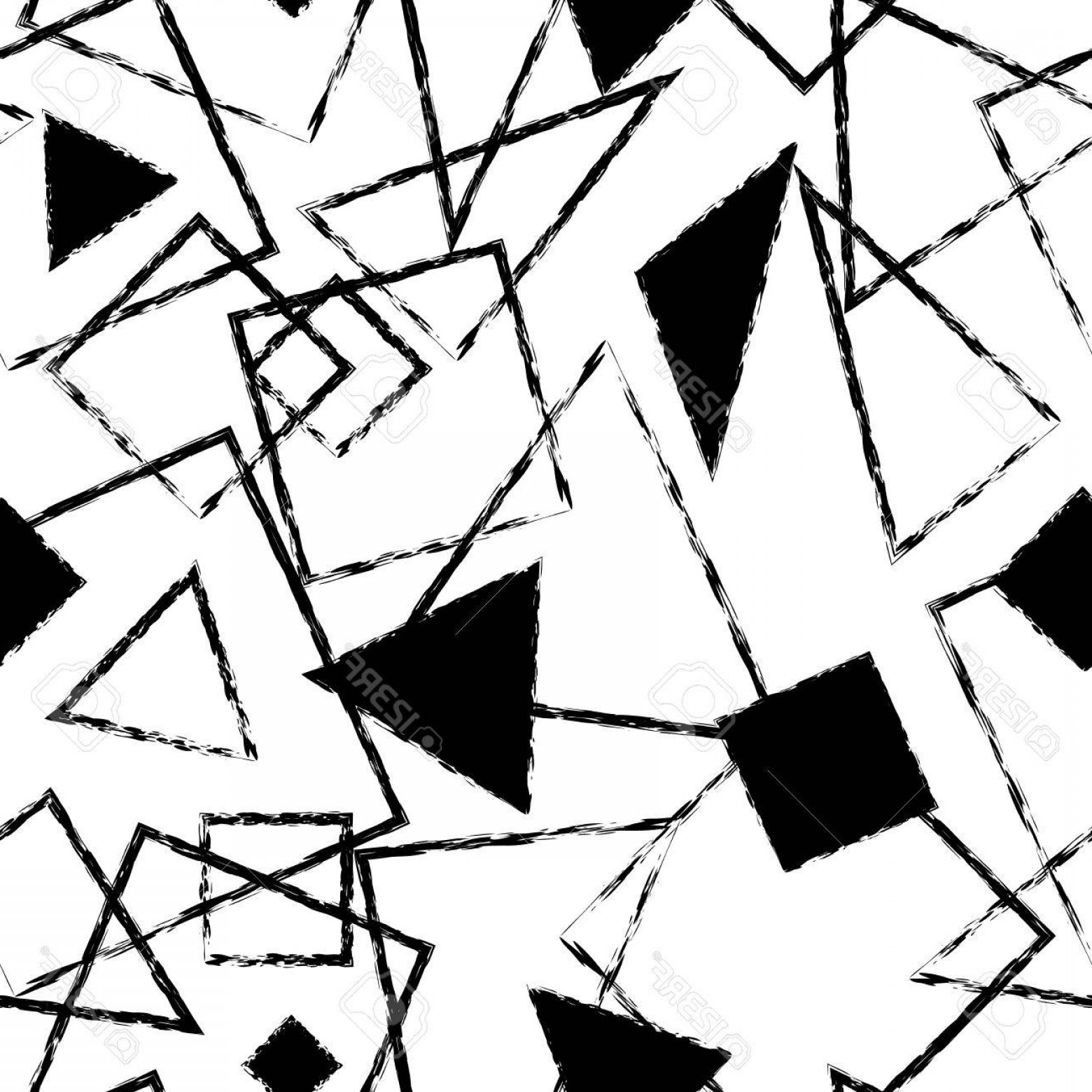 1560x1560 Black And White Vector Shapes Arenawp