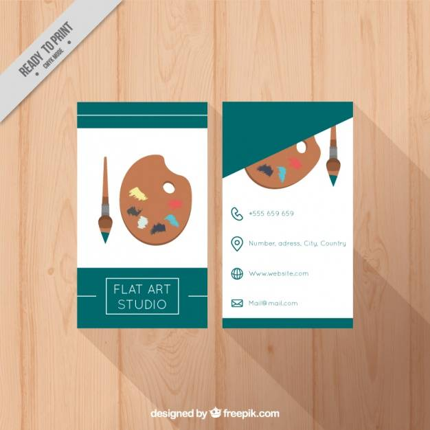626x626 Best Of Business Cards Free Templates Business Card Template Art