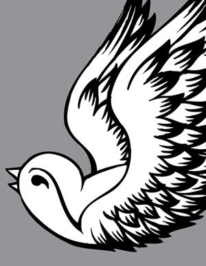 300x387 Tattoo Sparrow Vector Art Vector Genius