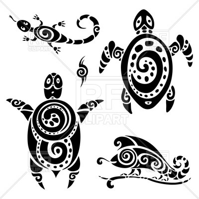 400x400 134 Best Tribal Tattoo Design Images Tribal Vector