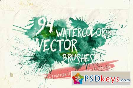 450x299 Watercolor Vector Art Brushes 136007 Free Download Photoshop