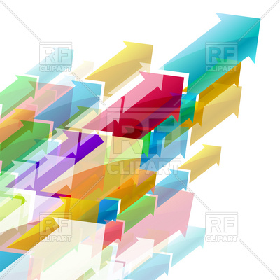 400x400 Arrows Torrent Background Vector Image Vector Artwork Of