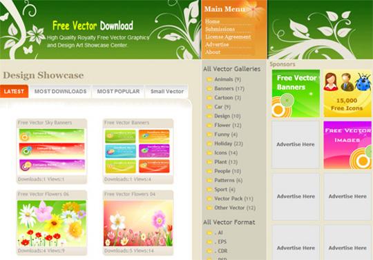 540x377 Best 10 Free Vector Art Websites!