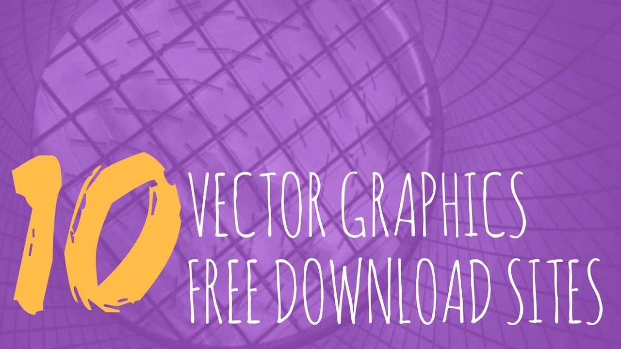 1280x720 Top 10 Websites For Free Vector Art Graphics Design Download