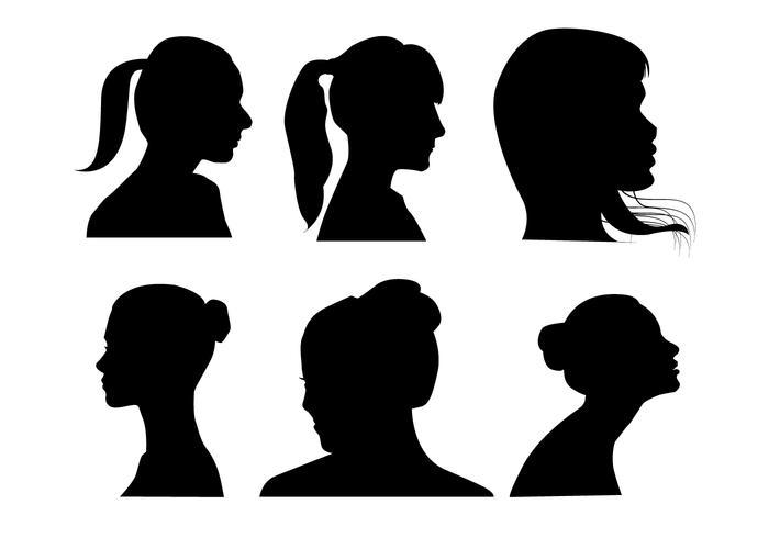 700x490 Women Profile Vectors