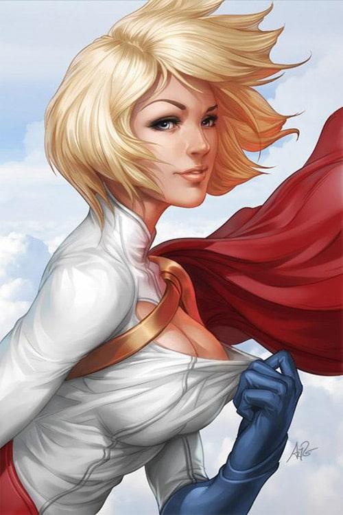 500x750 Comic Book Inspired Vector Artwork
