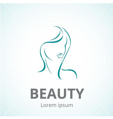 380x400 Vector Artwork Logos Sign Of A Woman Face Logo Template Vector