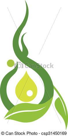 236x470 Vector Ayurveda Logo. Vector, Illustration, Cartoon, Logo