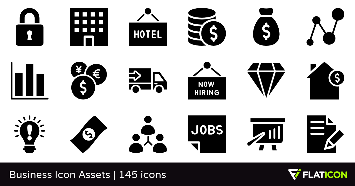 1200x630 Business Icon Assets 145 Free Icons (Svg, Eps, Psd, Png Files)
