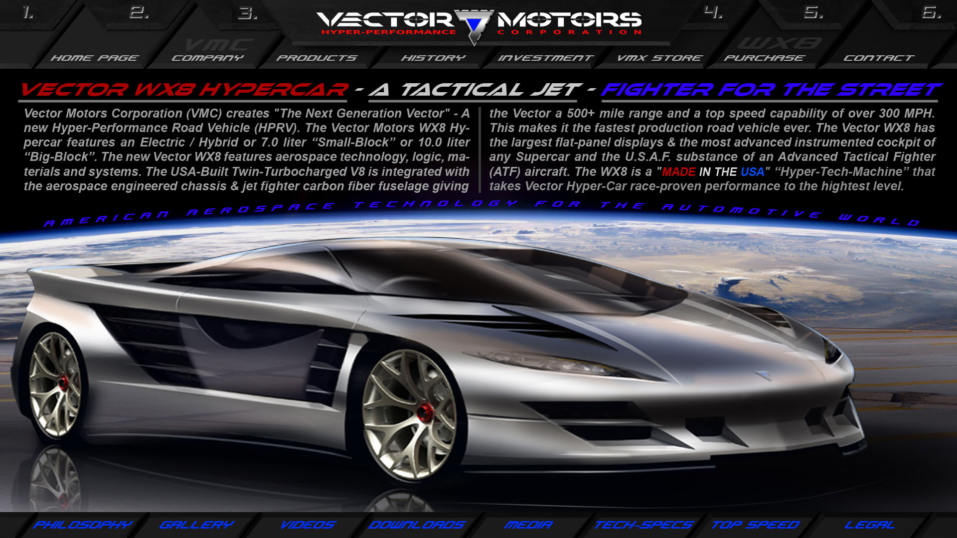 1920x1080 Vector Motors Corporation