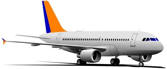 536x223 Realistic Aircraft 04 Vector Free Vector In Encapsulated