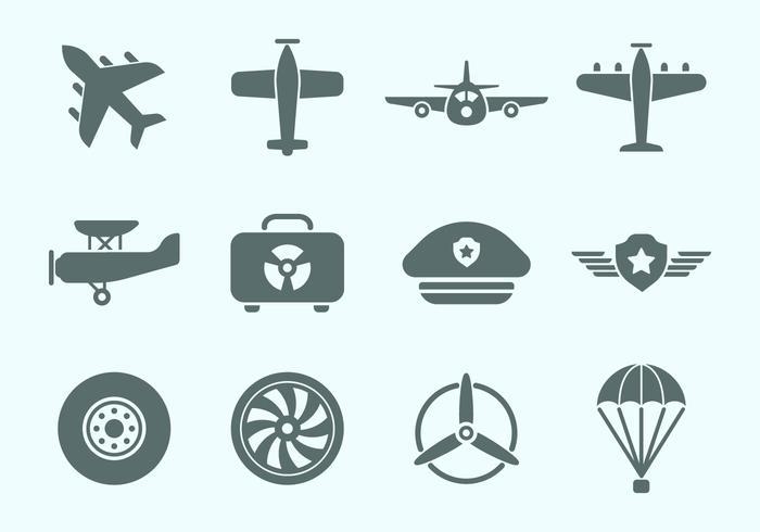700x490 Aviation Icons