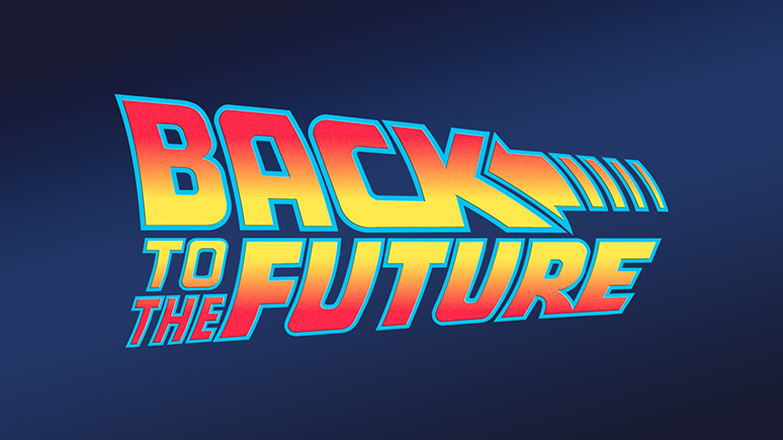 864x486 Back To The Future Vector Logo (1985) By Imleerobson