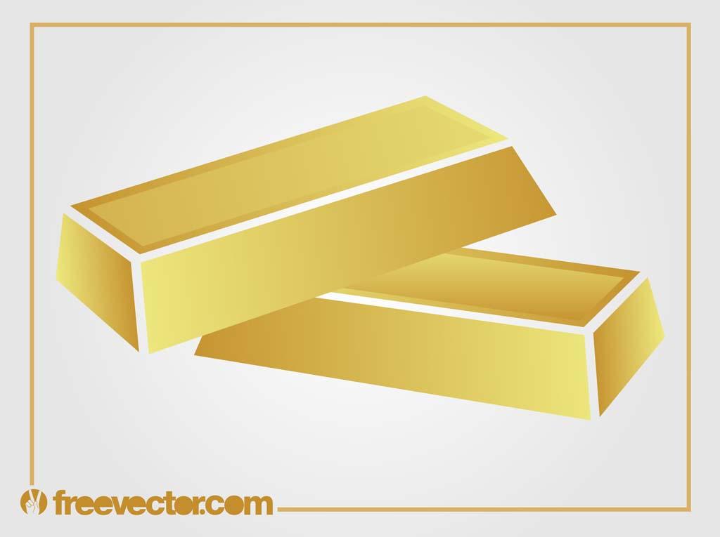 1024x765 Gold Bars Vector Vector Art Amp Graphics