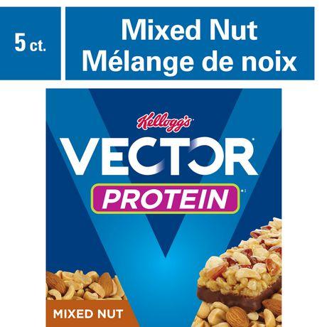 460x460 Kellogg Vector Protein Chewy Bar Mixed Nut Walmart Canada