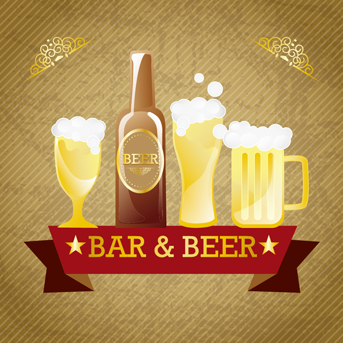 700x699 Bar Amp Beer 5 Free Vector Graphic Download