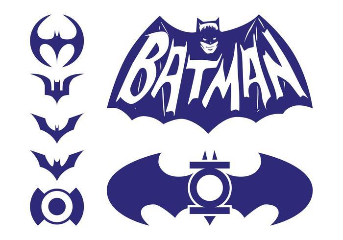 700x490 Batman Logos Pack