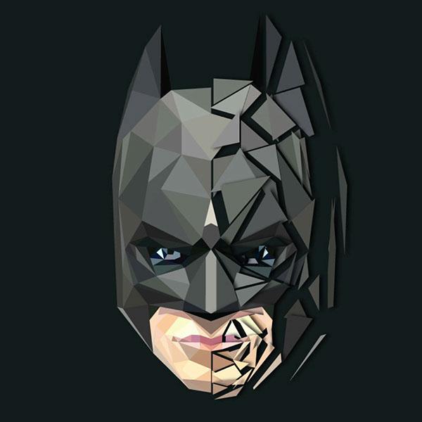 600x600 Batman Vector On Behance