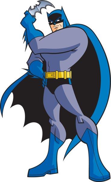368x600 Batman Cartoon Character Vector