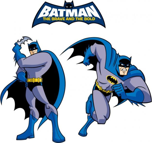 626x588 Batman Classic Style Cartoon Logo Vector Vector Free Download
