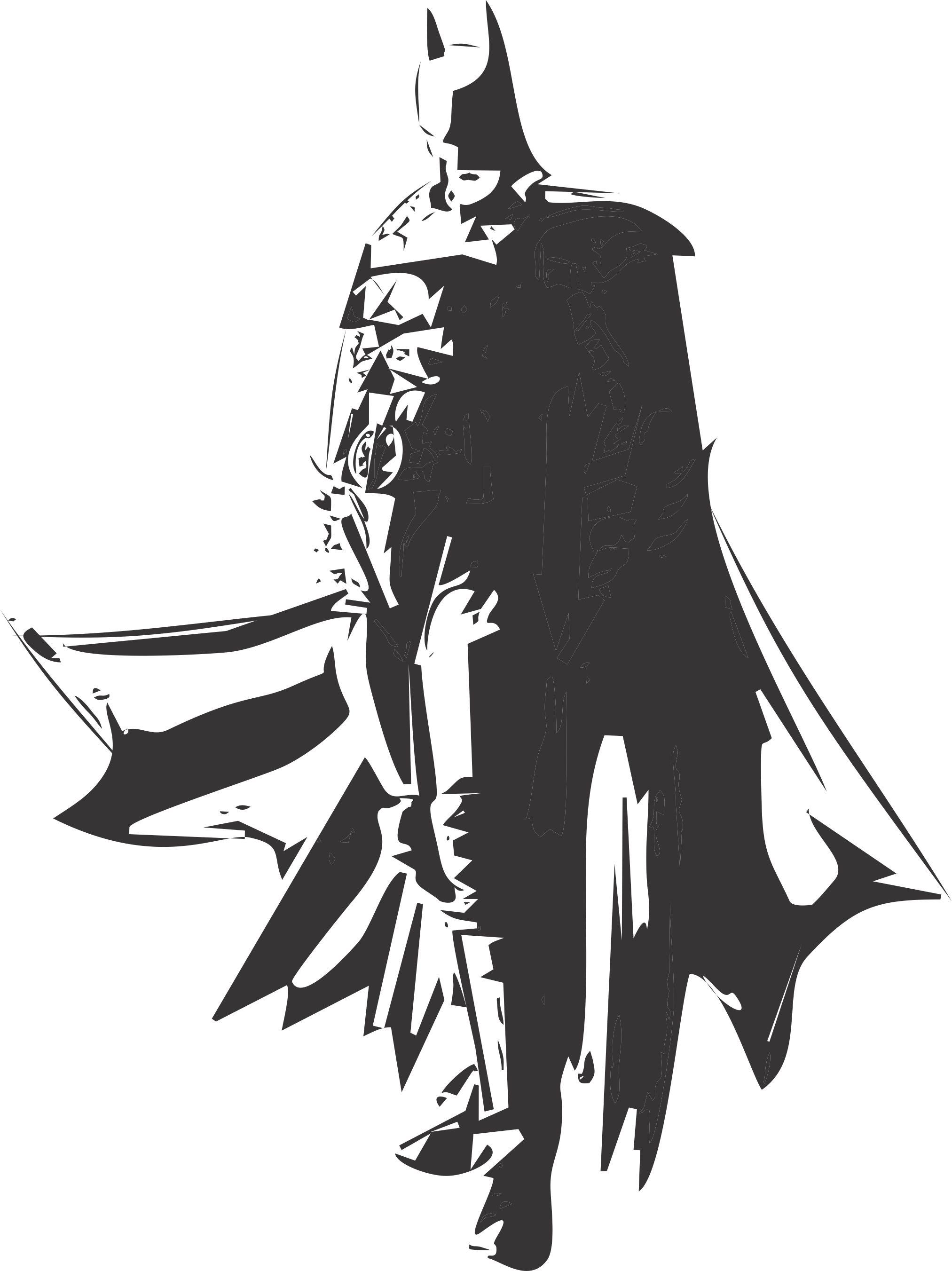 2025x2703 Creativity !! Batman !! Vector Art !! Steemkr