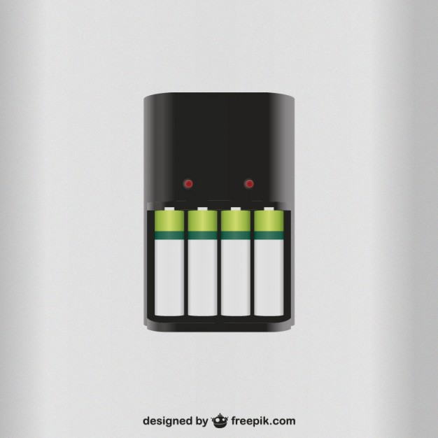 626x626 Battery Charger Vector Free Download