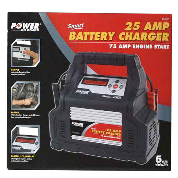 600x600 Vector Power On Board 25 Amp Battery Charger Perfect Vector Manual