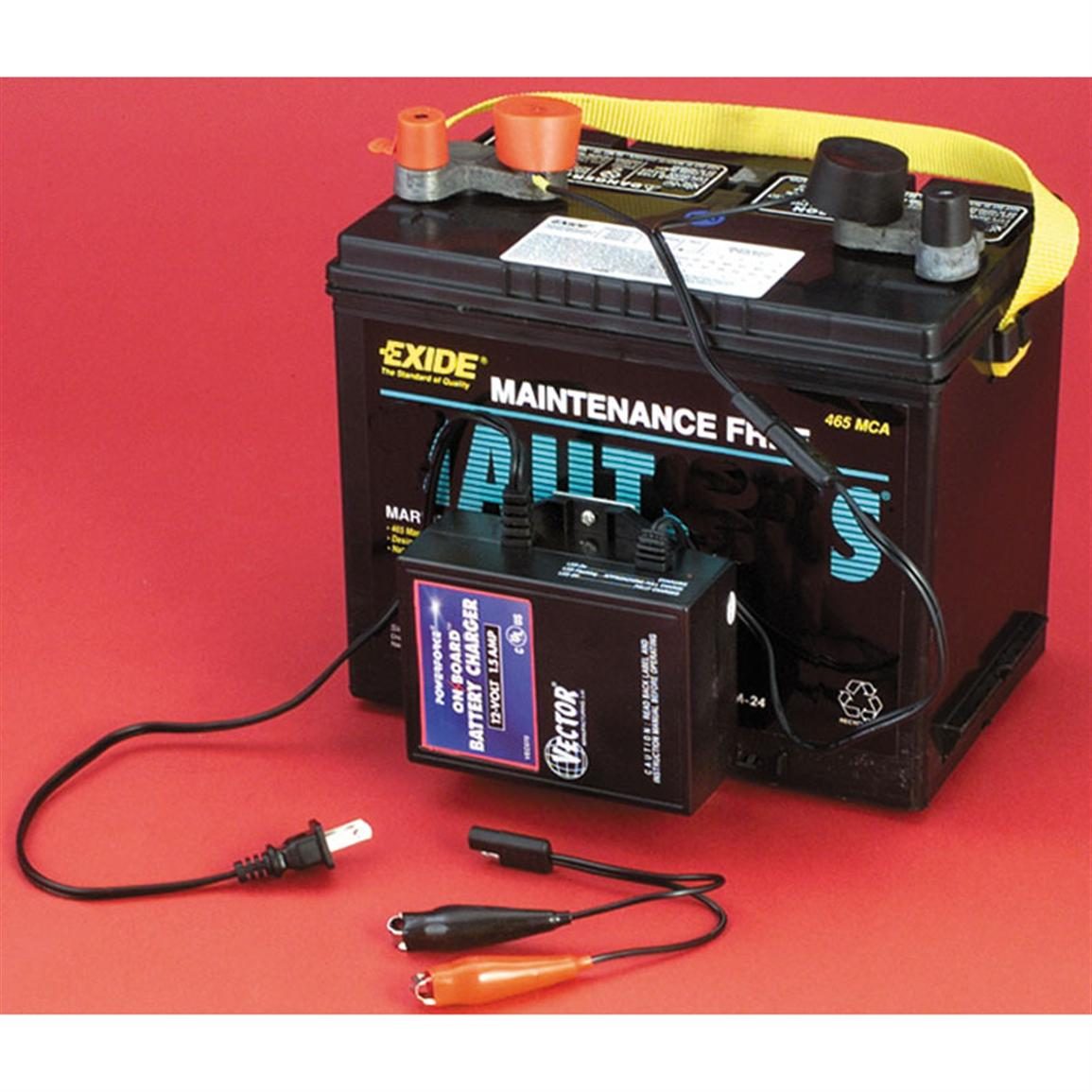 1155x1155 1.5 Amp On Board Automatic Battery Charger