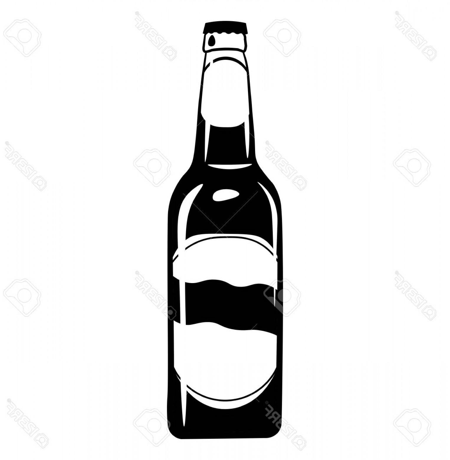 1526x1560 Photostock Vector Beer Bottle Icon Alcohol Drink Craft Beer Vector