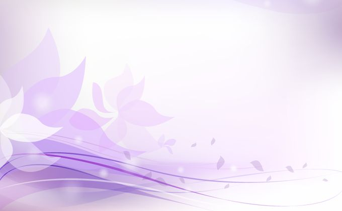 680x420 Purple Floral Background