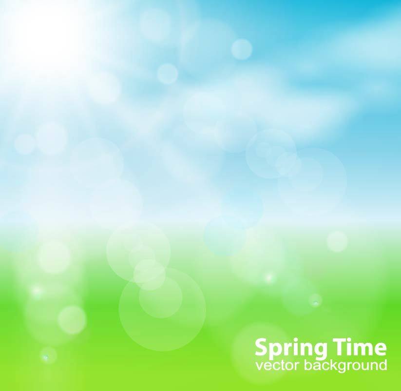 823x802 Spring Sun Nature Background