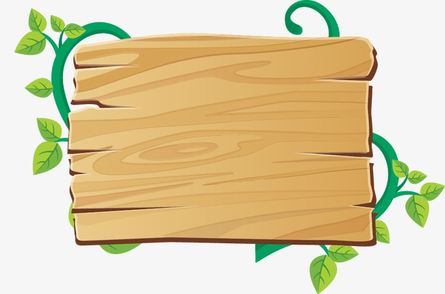 650x429 Vector Wood Leaves Message Board, Wood Vector, Vector, Board Png