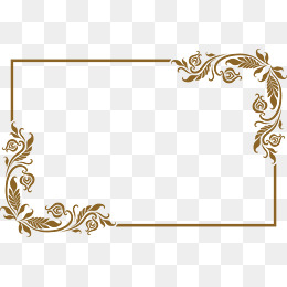 260x260 Golden Frame Png, Vectors, Psd, And Clipart For Free Download