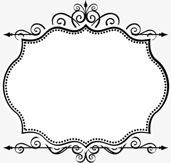 650x619 Border Vectors Free Download Simple Borders Vector Border Vector