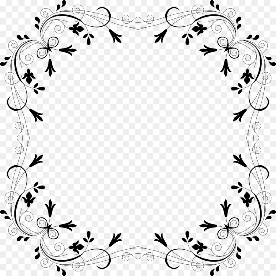 900x900 Borders And Frames Flower Rose Clip Art