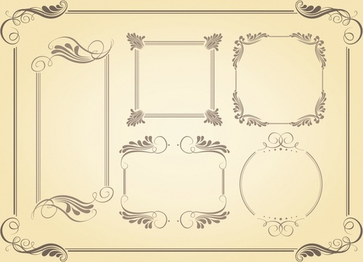 510x368 Border Free Vector Download (5,531 Free Vector) For Commercial Use