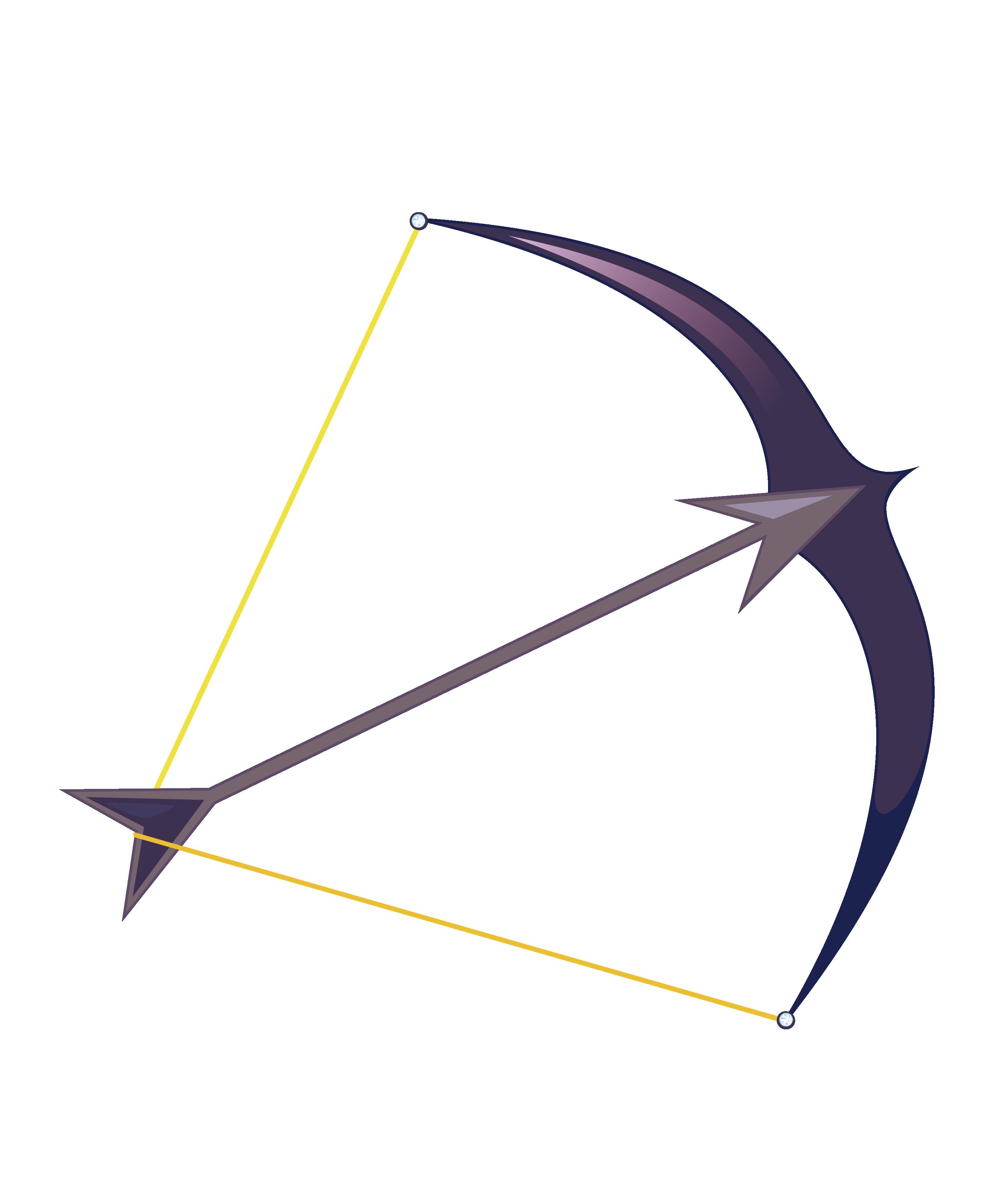 2999x3524 Bow And Arrow Arc
